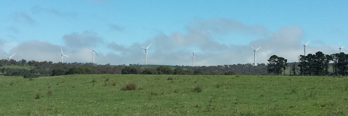 Wind Turbines near Bungendore NSW