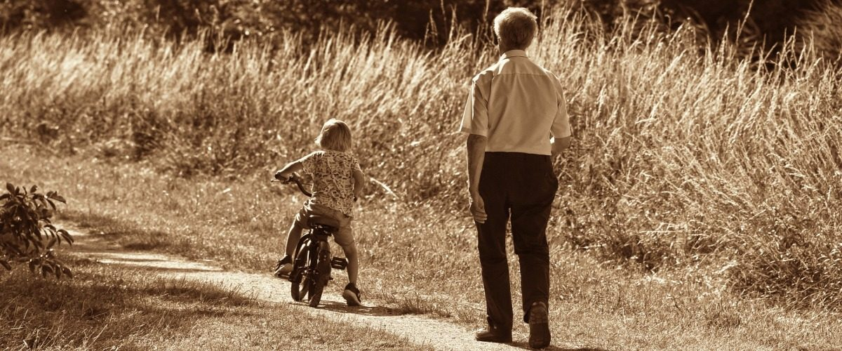 Estate Planning - Young child with grandfather