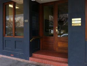 Elringtons Queanbeyan Office door