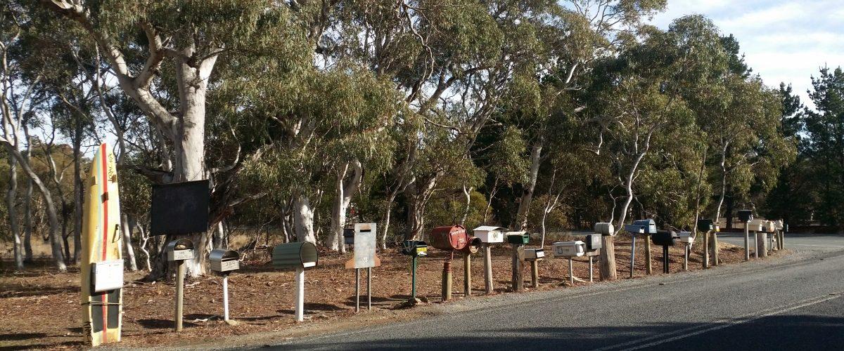 Rural Mailboxes near Bungendore NSW