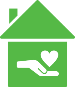 Bernardos Australia House hand Heart
