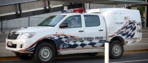 Australian Federal Police - Image by trueblueline from Pixabay