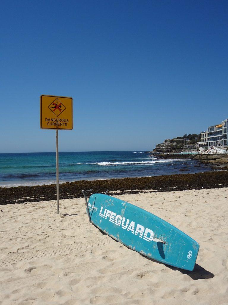 Bondi Beach Lifeguard surfboard