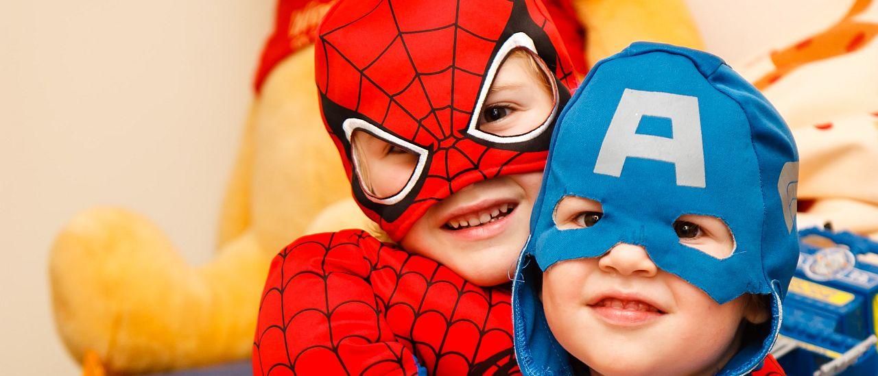 boys in superhero costume - Photo by Steven Libralon on Unsplash
