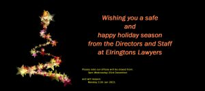 Christmass wishes and office opening hours